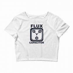 flux capacitor Crop Top | Artistshot