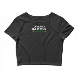 geek expert advice   science   physics   nerd t shirt Crop Top | Artistshot