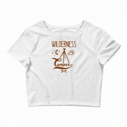 wilderness camper Crop Top | Artistshot