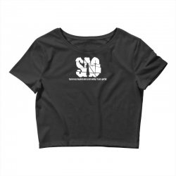 Sword Art Online abbreviated tee Crop Top | Artistshot