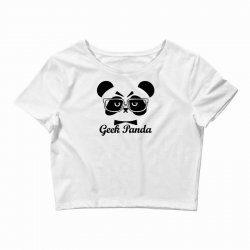 Geek Panda Crop Top | Artistshot