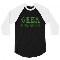 geek goddess kelly green 3/4 Sleeve Shirt | Artistshot