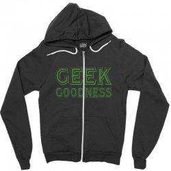 geek goddess kelly green Zipper Hoodie   Artistshot