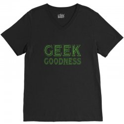 geek goddess kelly green V-Neck Tee | Artistshot