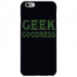 geek goddess kelly green iPhone 6/6s Case   Artistshot
