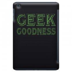 geek goddess kelly green iPad Mini Case   Artistshot