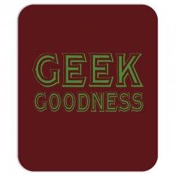 geek goddess kelly green Mousepad   Artistshot