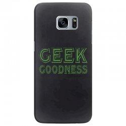 geek goddess kelly green Samsung Galaxy S7 Edge Case   Artistshot
