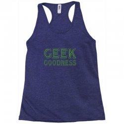 geek goddess kelly green Racerback Tank   Artistshot
