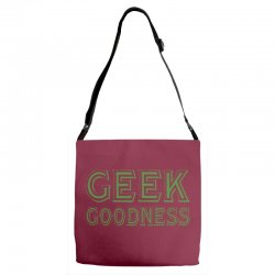 geek goddess kelly green Adjustable Strap Totes   Artistshot