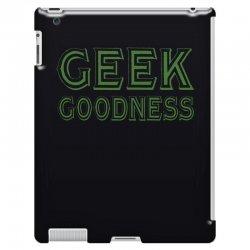 geek goddess kelly green iPad 3 and 4 Case   Artistshot