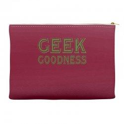 geek goddess kelly green Accessory Pouches   Artistshot