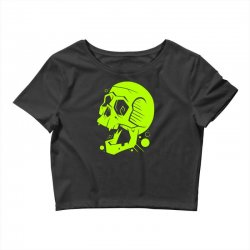 Toxic Scream Crop Top | Artistshot