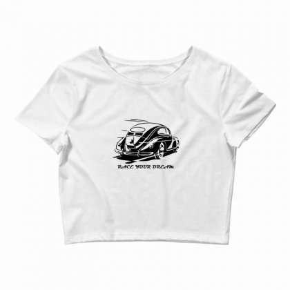 Race Your Dream Crop Top Designed By Specstore