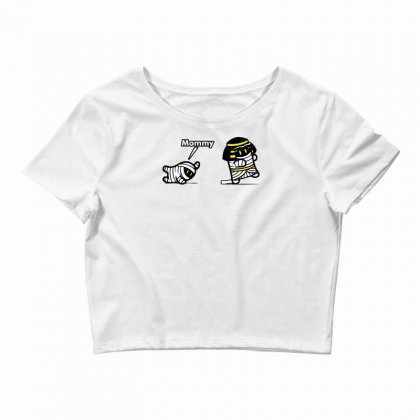Mommy Mummy Crop Top Designed By Specstore