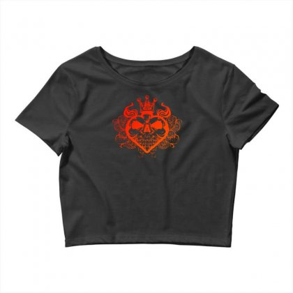 King Of Spades Crop Top Designed By Specstore