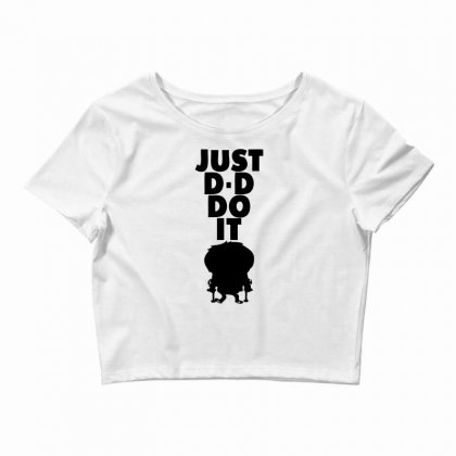 Just Dddo It Crop Top Designed By Specstore