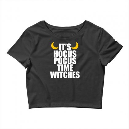 It's Hocus Pocus Time Witches Crop Top Designed By Specstore