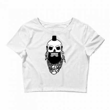 I Pity The Fool Crop Top Designed By Specstore