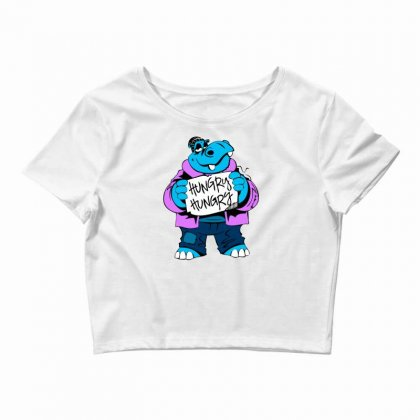 Hungry Hippo Crop Top Designed By Specstore