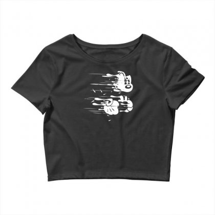 Flying Mouse Crop Top Designed By Specstore