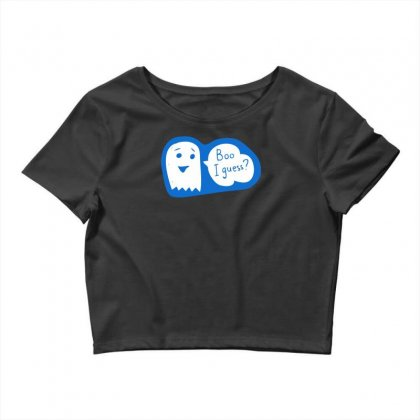 Boo I Guess Crop Top Designed By Specstore