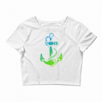 Anchor Of Life Crop Top Designed By Specstore