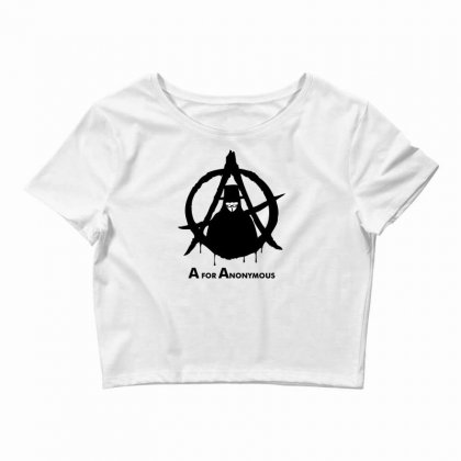 A For Anonymous Crop Top Designed By Specstore
