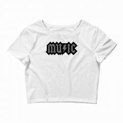 music Crop Top | Artistshot