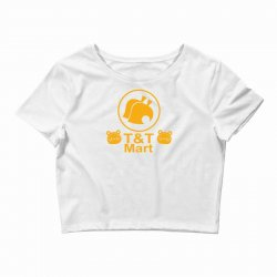 animal crossing t & t mart Crop Top | Artistshot