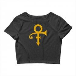 prince symbol music funk pop soul Crop Top | Artistshot