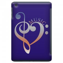 music expresses clef heart girls iPad Mini Case | Artistshot