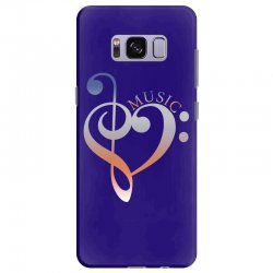 music expresses clef heart girls Samsung Galaxy S8 Plus Case | Artistshot
