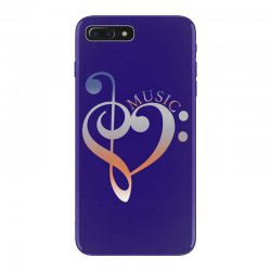 music expresses clef heart girls iPhone 7 Plus Case | Artistshot