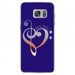 music expresses clef heart girls Samsung Galaxy S7 Case | Artistshot