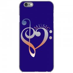 music expresses clef heart girls iPhone 6/6s Case | Artistshot