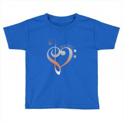 music expresses clef heart girls Toddler T-shirt | Artistshot