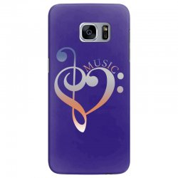 music expresses clef heart girls Samsung Galaxy S7 Edge Case | Artistshot