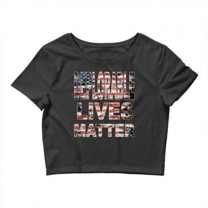 Deplorable Lives Matter Crop Top Designed By Vr46