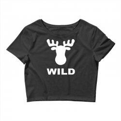 wild animal funny Crop Top | Artistshot