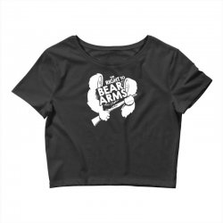 the right to bear arms Crop Top | Artistshot
