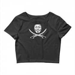 mask of modern mutiny Crop Top   Artistshot