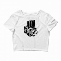 hasselblad vintage camera Crop Top | Artistshot