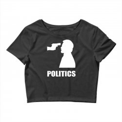 politics Crop Top | Artistshot