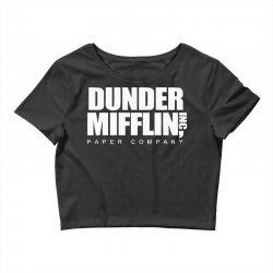 dunder mifflin Crop Top | Artistshot