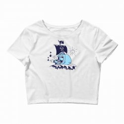 musical ship Crop Top | Artistshot