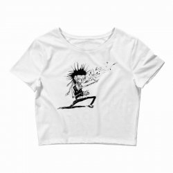 Zombie Music Crop Top | Artistshot
