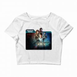 stranger things 01 Crop Top | Artistshot