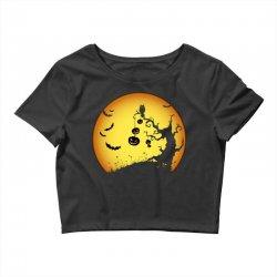 Night Halloween Crop Top | Artistshot