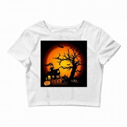 Happy Halloween Crop Top | Artistshot